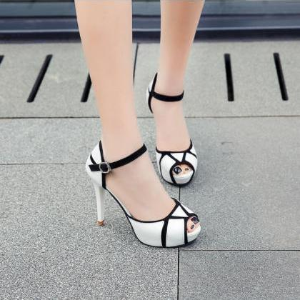 2018 Summer Ms. New Sandals Color M..