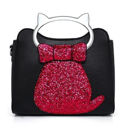 New Cat Lady Bag Fashion Lady Shoulder Bag Joker Handbag
